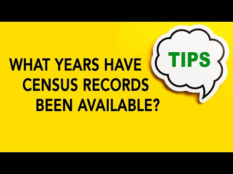 What Years Have Census Records? | Genealogy Gold Podcast