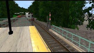 Trainz 12: R160 (M) Train (Metropolitan Av - Forest Hills) (Automated Announcements) {All Stops}