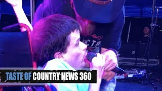 This Colt Ford Fan Stole the Mic + Jaws Dropped - Taste of Country News 360