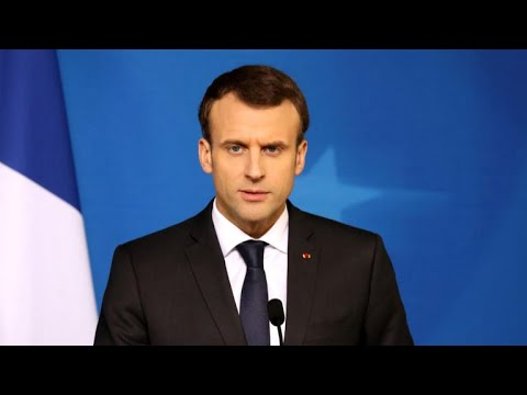"""French president cites """"proof"""" of chemical attack in Syria"""