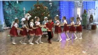 """Танец """"Валенки"""" на Новом Году в детском саду"""