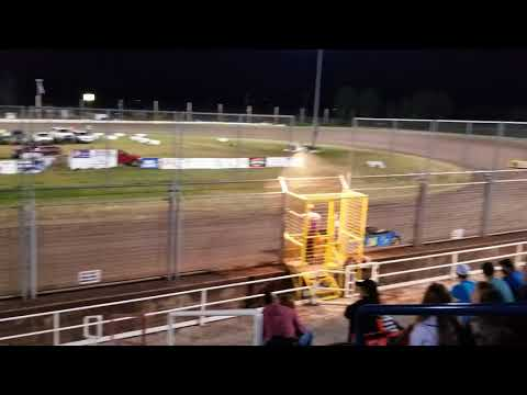 Miles Deubert overtakes all late model cars for the win at Southern Oregon Speedway