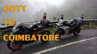 RideAlong -Ooty to Coimbatore | KTM | RC390 | RC200