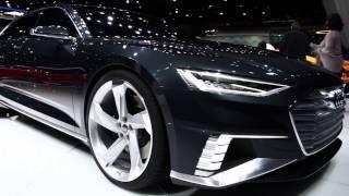 FIRST LOOK: Audi A9 Prologue Avant - Geneva 2015