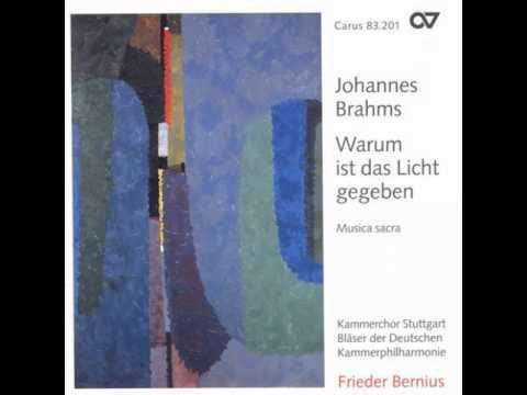 Johannes Brahms - Geistliches Lied, Op. 30