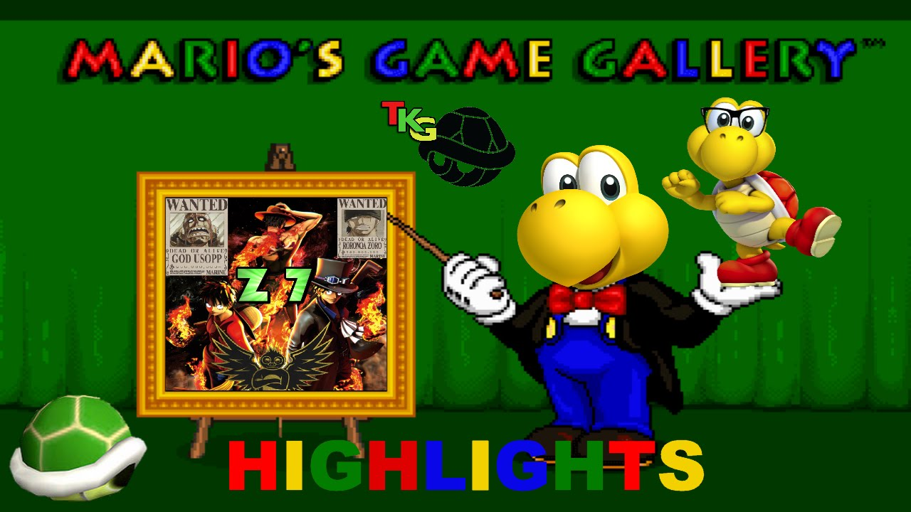 tkg has fun with mario s game gallery highlights youtube