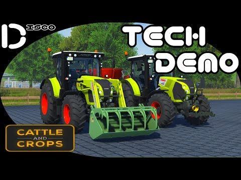 Cattle And Crops Tech Demo #8 Animal Feeding...
