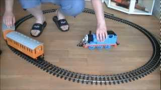 Bachmann G scale Thomas the tank engine with Annie & Clarabel