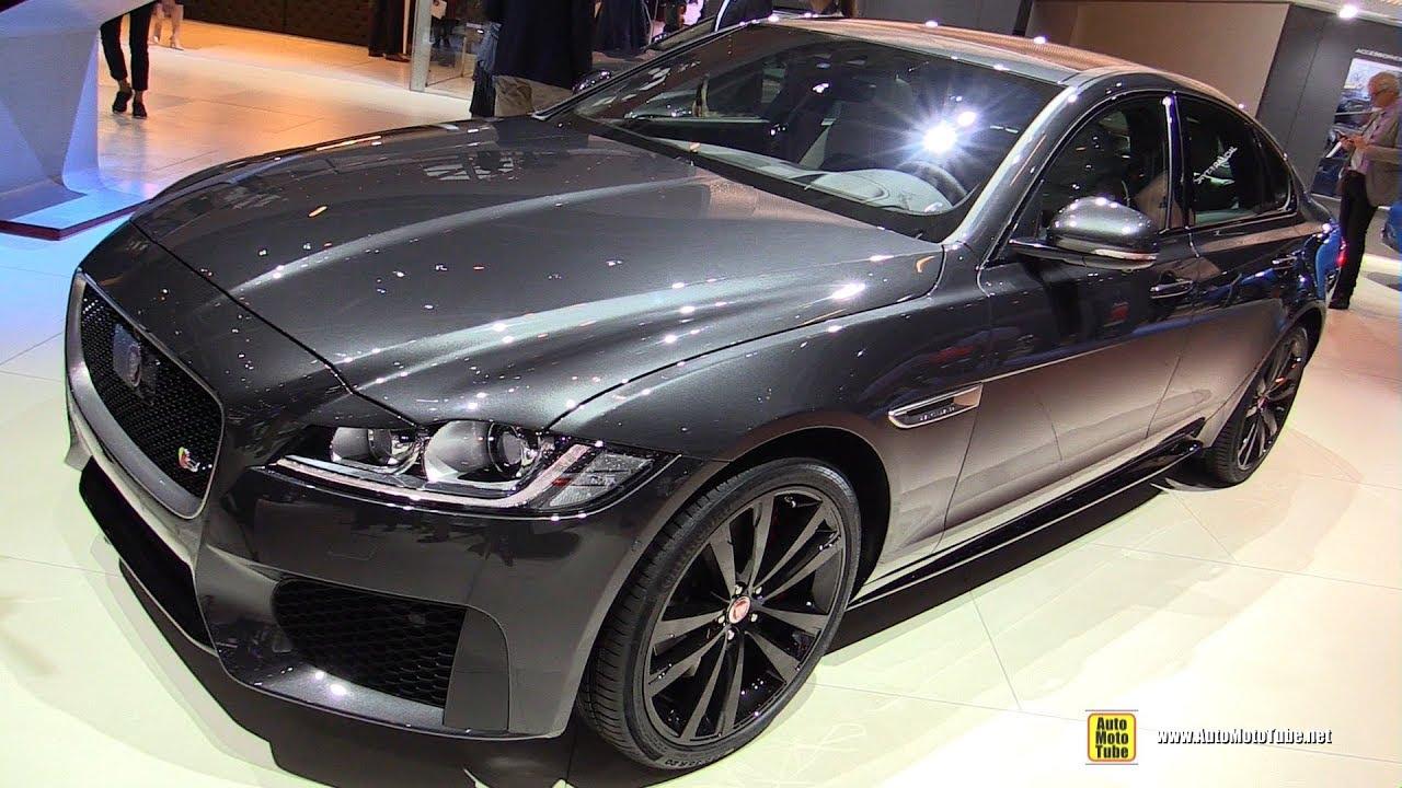 2019 Jaguar Xf Exterior And Interior Walkaround 2018 Paris Motor