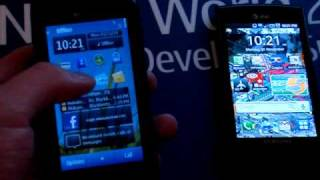 symbian 3 vs android 2 1 response time