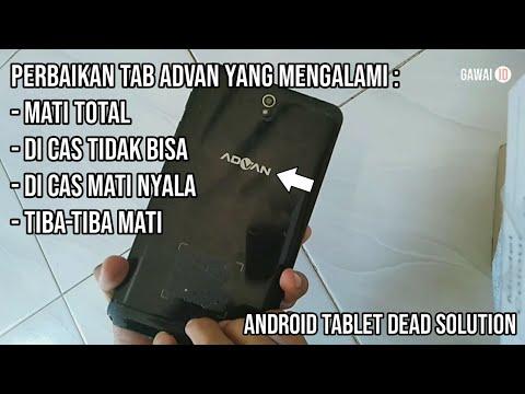 Cara Memperbaiki Hp/Tablet Mati Total Dengan Cara Yang Simpel...