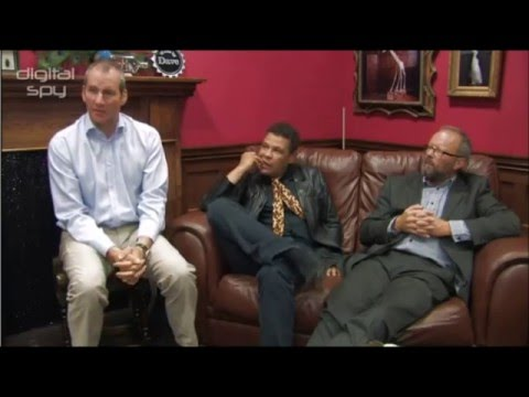 Chris Barrie Craig Charles and Robert Llewellyn discuss Red Dwarf X
