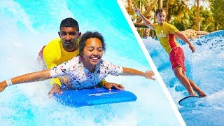 TIANA'S SURFING LESSONS!!