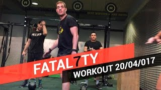 CROSSFIT WORKOUT OF DAY 20/04/2017 - Fatal7ty Scaled