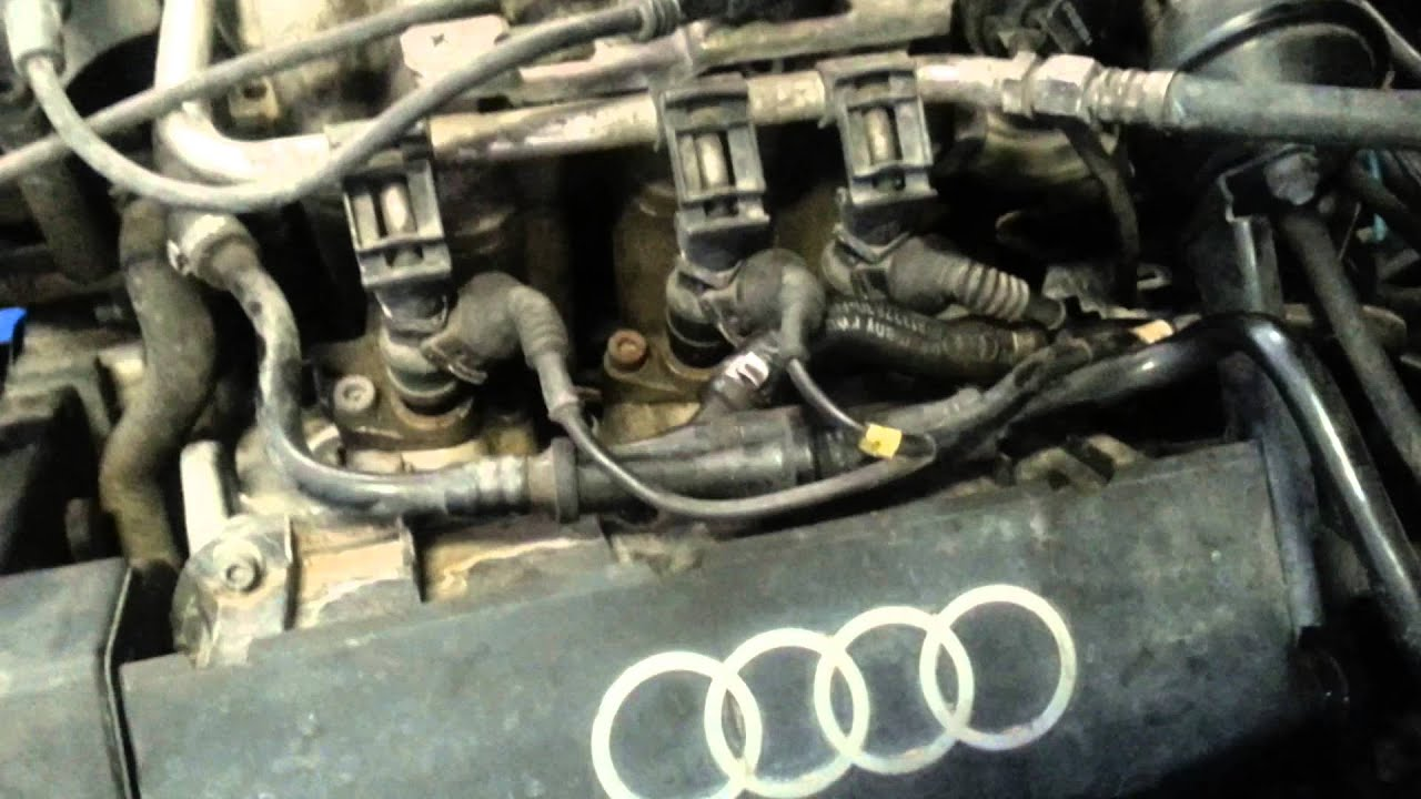 97 A6 2 8 Quattro Breather Hose System Cleaned YouTube