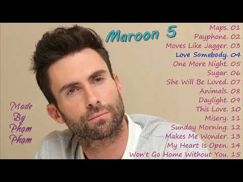 Maroon 5The Best Songs 2017Cover