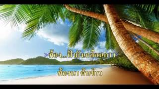[เพลงประกวด]เคียวเกี่ยวใจ - ใบเฟิร์น ไมค์ทองคำ [คาราโอเกะ HD]
