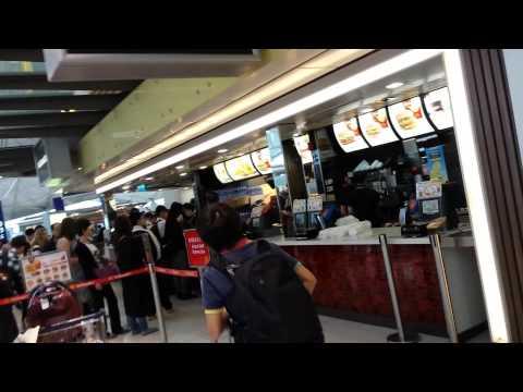 Mc Donald at HongKong airport
