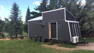 Super Contemporary Owner-Built Tiny House