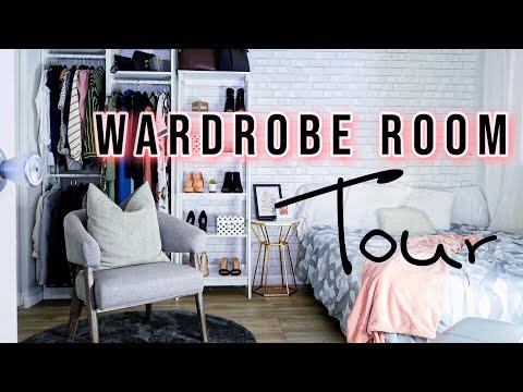 DIY Wardrobe/Guest Room Tour 2019