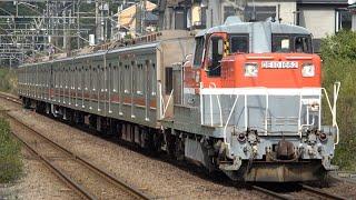 東急3000系3007F J-TREC出場(甲種輸送)