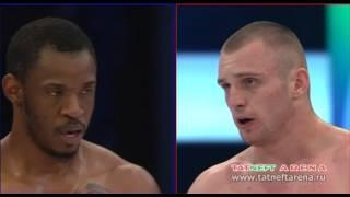 TATNEFT CUP   Arkadiy Lisin VS Christian Wouapi   Бои по правилам TNA
