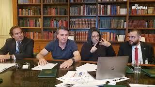 """Bolsonaro diz que Aras é forte candidato """"se aparecer uma terceira vaga"""" no STF"""