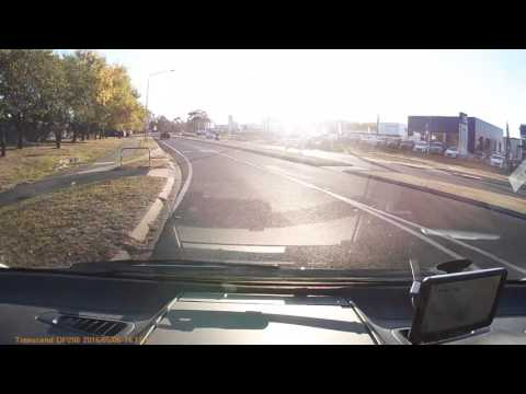 Overtaking Silver Mercedes on Melrose Drive 80 plus in 60 zone