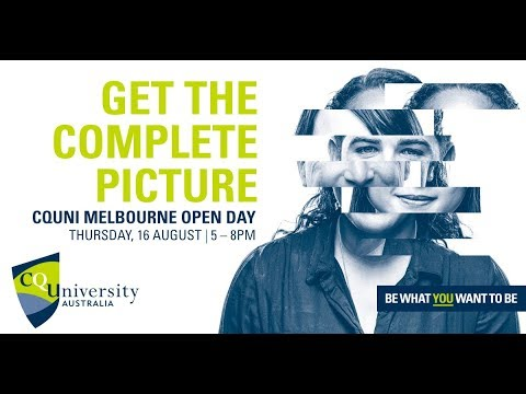CQUni Melbourne Open Day