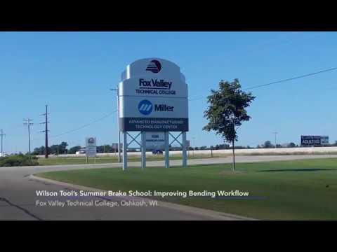 Wilson Tool Fox Valley Press Brake Training