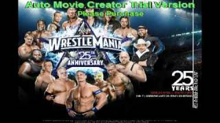 Wrestlemania 25 theme shoot to thrill by ACDC