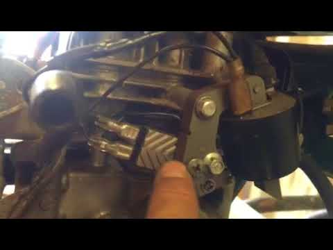 Replace points and condenser with an ignition module