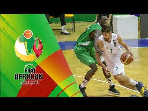Algeria v Nigeria - Full Game - FIBA AfroCan 2019