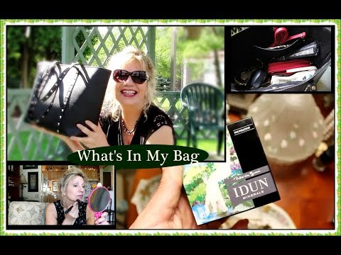 Great Mineral Makeup for Mature Women & New Teddy Blake Bag!