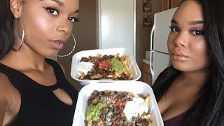 Carne Asada Fries MUKBANG | Eating show | Eating Sounds | Eatin Pretty