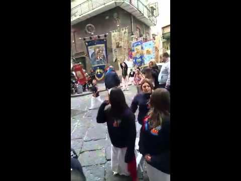 Via Sedile Di Porto 51.Funzione Piazza Orefice Via Sedile Di Porto Youtube
