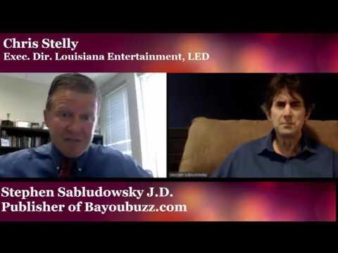 Stelly talks Louisiana Entertainment tax credit programs cross-pollination