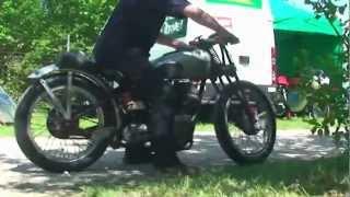 Rudge Power - Coupes Moto Legende - Circuit Dijon-Prenois 2012 Video