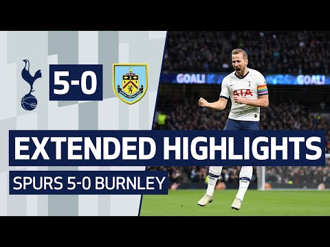EXTENDED HIGHLIGHTS | SPURS 5-0 BURNLEY | Kane, Lucas, Son And Sissoko All Score Goals!