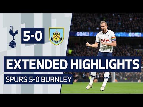 EXTENDED HIGHLIGHTS   SPURS 5-0 BURNLEY   Kane, Lucas, Son and Sissoko all score goals!