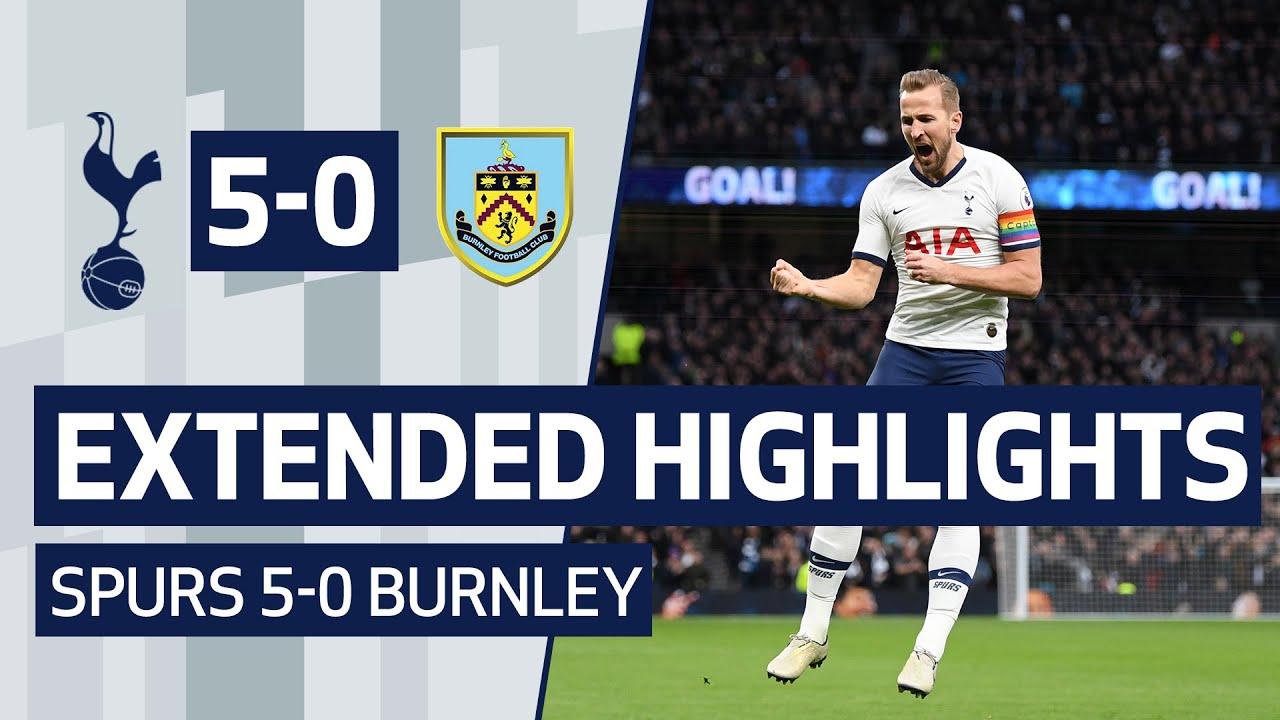EXTENDED HIGHLIGHTS | SPURS 5-0 BURNLEY | Kane, Lucas, Son and Sissoko all score goals!