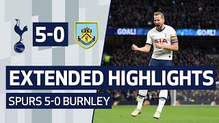 Download EXTENDED HIGHLIGHTS | SPURS 5-0 BURNLEY | Kane, Lucas, Son and Sissoko all score goals! Mp3 and Videos