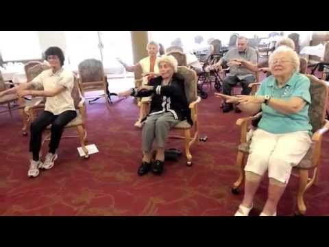 Becky's SeniorSit and Dance Chair Exercise - YouTube