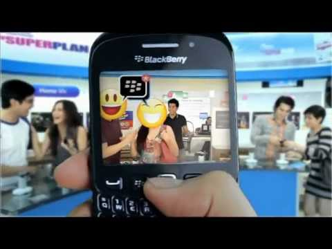Globe Postpaid - BlackBerry Curve 9220 FREE At Plan 499 + BB CHAT
