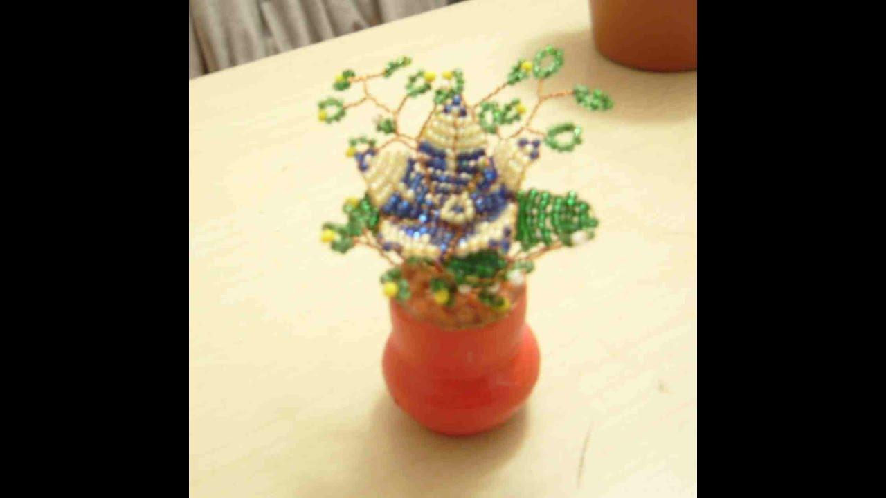Como Hacer Flores Con Chaquira