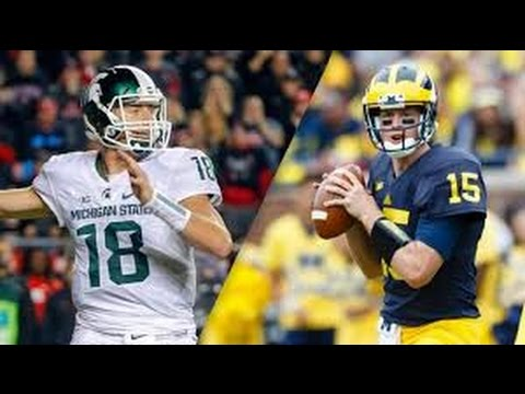 Michigan State vs Michigan Full Game 17/10/2015 NCAA Football Week 7