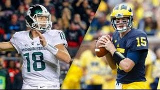 Michigan State vs Michigan Full Game 17/10/2015 NCAA Football Week 7