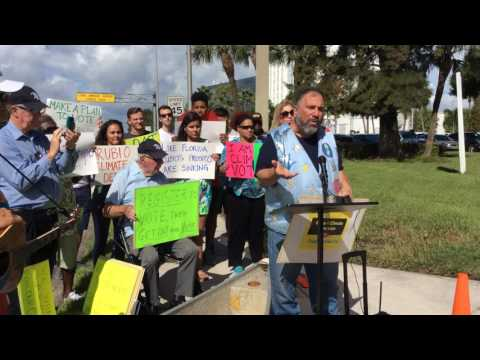 09.14.16 Environmental Groups Ask Senator Marco Rubio Take Action on Climate Change 6