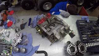 Engine rebuild / Yamaha Banshee 350
