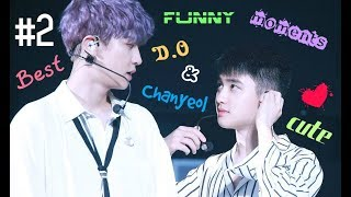 Download lagu EXO | BEST FUNNY & CUTE MOMENTS | D.O & CHANYEOL #2